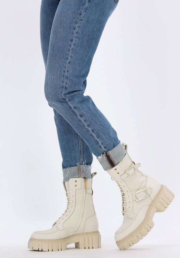 Beige NOTRE-V Chelsea boots 03-438  - larger