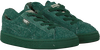 Groene PUMA Sneakers PUMA X TC BASKET FURRY  - small