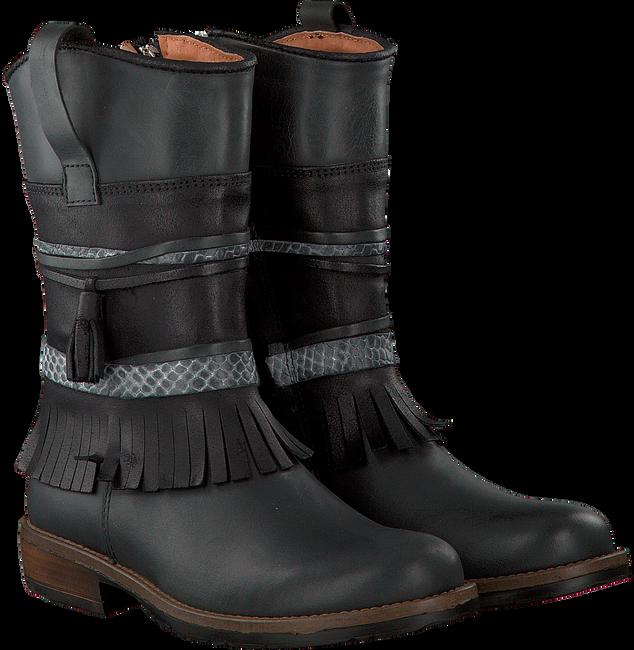 Zwarte KANJERS Lange laarzen 5228RP  - large