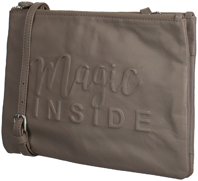 Taupe BY LOULOU Schoudertas 04CLUTHC105S MAGIC INSIDE - large