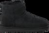 Zwarte UGG Vachtlaarzen CLASSIC MINI II  - small