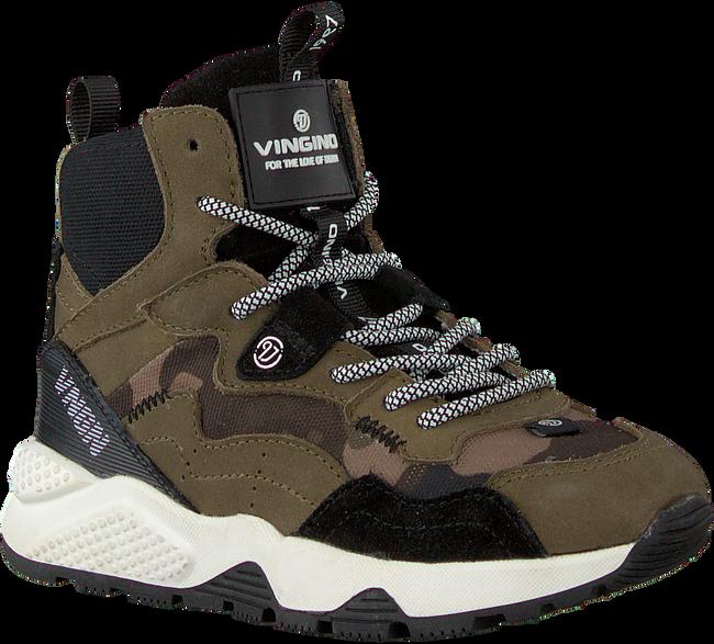 Groene VINGINO Hoge sneaker GIO MID  - large