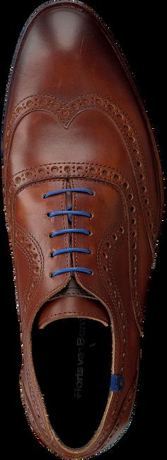 Cognac FLORIS VAN BOMMEL Nette schoenen 19048  - large