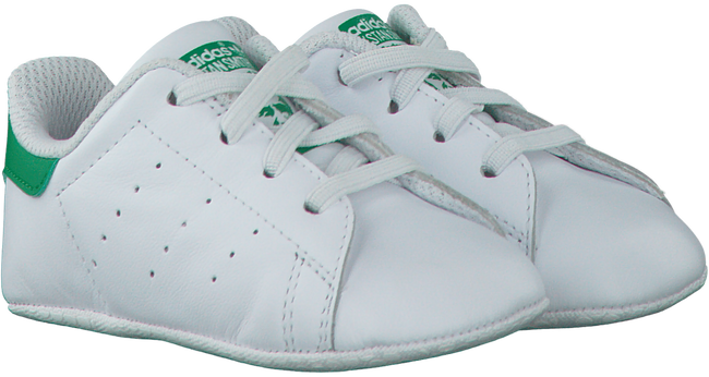 Witte ADIDAS Babyschoenen STAN SMITH CRIB  - large