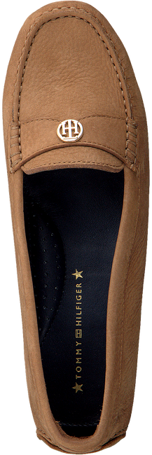 Cognac TOMMY HILFIGER Mocassins MOCCASIN WITH CHAIN DETAIL  - large