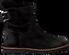 Zwarte SHABBIES Enkellaarsjes 181020134 - small