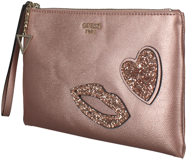 Roze GUESS Clutch HWMH68 62720 - large