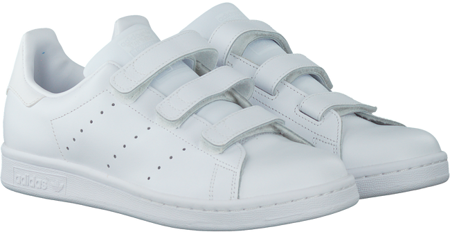 Witte ADIDAS Sneakers STAN SMITH KIDS  - large