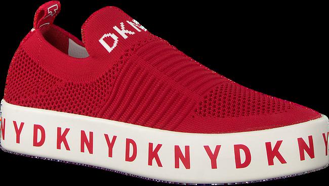 Rode DKNY Slip-on sneakers  BREA SLIP ON  - large