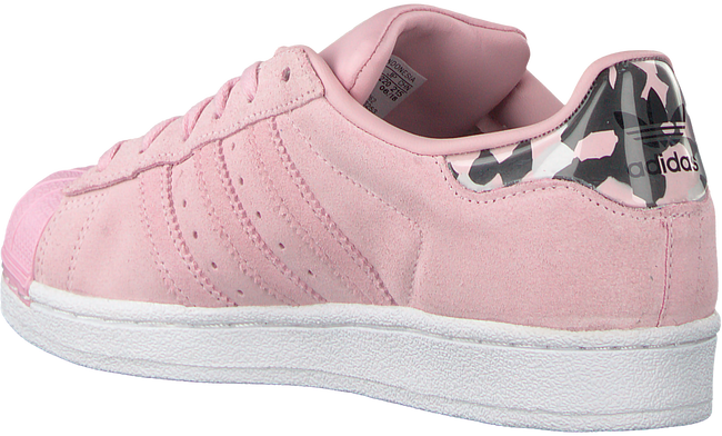 Roze ADIDAS Sneakers SUPERSTAR J - large