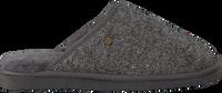 Grijze WARMBAT Pantoffels CLASSIC HERRINGBONE  - medium