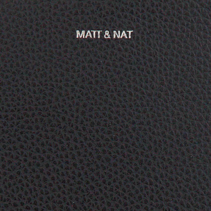 Zwarte MATT & NAT Schoudertas PAIR CROSSBODY  - larger