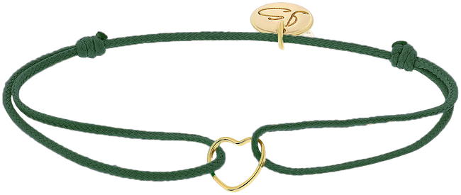 Groene JEWELLERY BY SOPHIE Armband MY EVERYDAY HEART - large