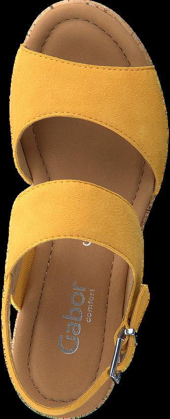 Gele GABOR Sandalen 775  - larger