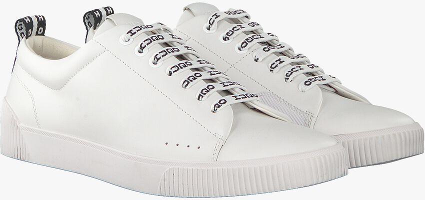 Witte HUGO Sneakers ZERO TENN NARB  - larger