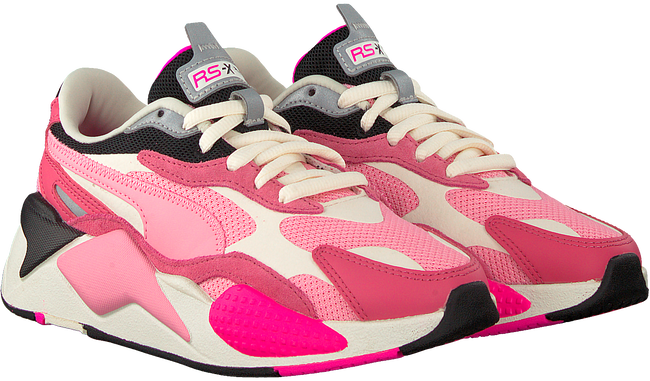 Roze PUMA Lage sneakers RS-X3 PUZZLE  - large