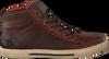 Bruine BRUNOTTI Sneakers PARRANO MID  - small