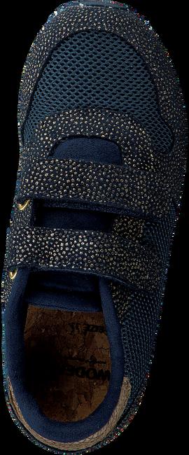 Blauwe WODEN Lage sneakers SANDRA PEARL MESH  - large