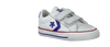 Witte CONVERSE Sneakers STAR PLAYER OX KIDS  - small