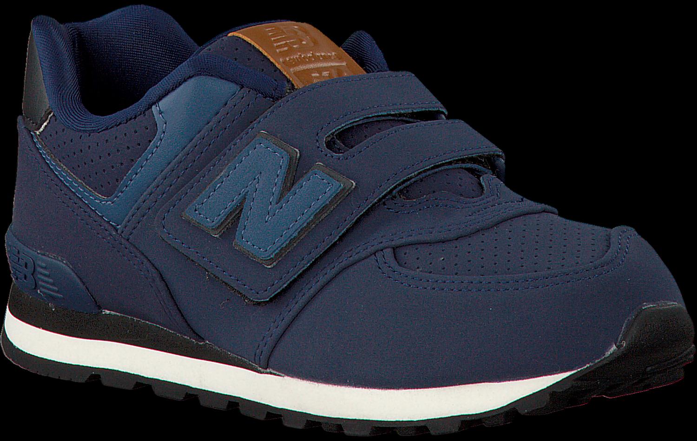 new balance kv574 blauw