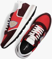 Rode PHILIPPE MODEL Lage sneakers TROPEZ MONDIAL  - medium