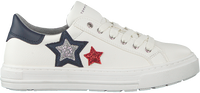 Witte TOMMY HILFIGER Lage sneakers 30615  - medium