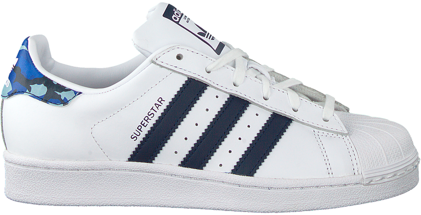 Witte ADIDAS Sneakers SUPERSTAR J  - larger
