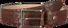 Bruine MAZZELTOV Riem B103  - small