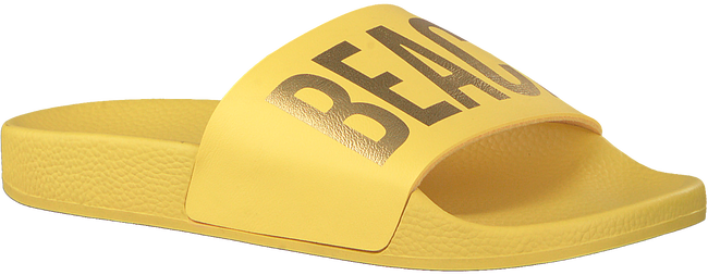 Gele THE WHITE BRAND Slippers BEACH PLEASE  - large