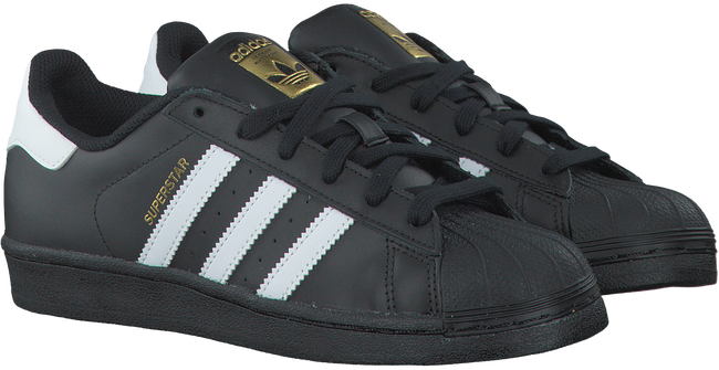 Zwarte ADIDAS Sneakers SUPERSTAR DAMES  - large