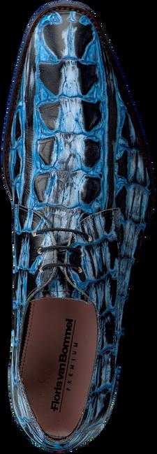 Blauwe FLORIS VAN BOMMEL Nette schoenen 18204  - large
