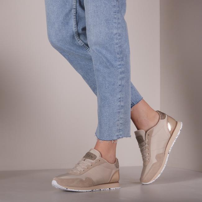 Beige WODEN Lage sneakers NORA III  - large