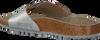 Zilveren BIRKENSTOCK Slippers MADRID BIG BUCKLE WASHED - small