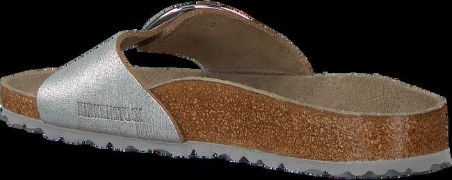 Zilveren BIRKENSTOCK Slippers MADRID BIG BUCKLE WASHED - large