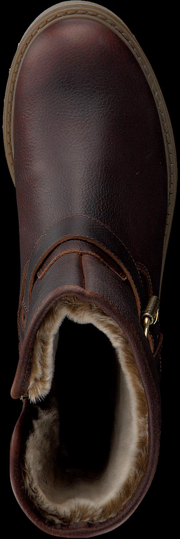 Bruine PANAMA JACK Biker boots SINGAPUR B23
