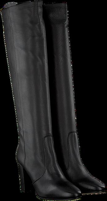 Zwarte FRED DE LA BRETONIERE Lange laarzen 193010041  - large