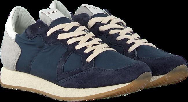 Blauwe PHILIPPE MODEL Sneakers MONACO VINTAGE  - large