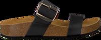 Zwarte RED-RAG Slippers 78110  - medium