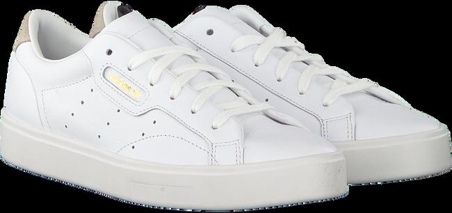 Witte ADIDAS Sneakers SLEEK W  - large