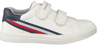 Witte TOMMY HILFIGER Lage sneakers LOW CUT VELCRO SNEAKER  - medium