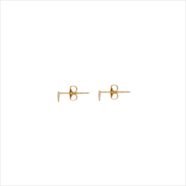 Gouden ALLTHELUCKINTHEWORLD Oorbellen PETITE EARRINGS TRIANGLE - large