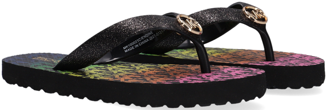 Zwarte MICHAEL KORS Slippers ENDINE  - large
