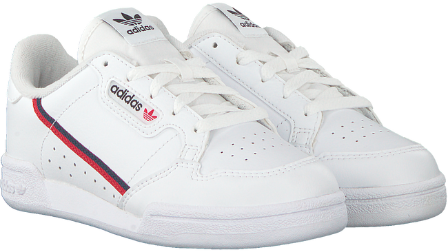 Witte ADIDAS Sneakers CONTINENTAL 80 C  - large