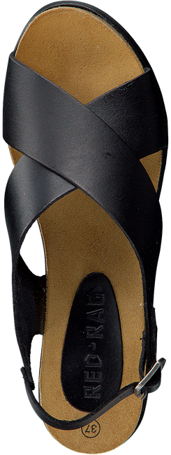 Zwarte RED-RAG Sandalen 78068  - large