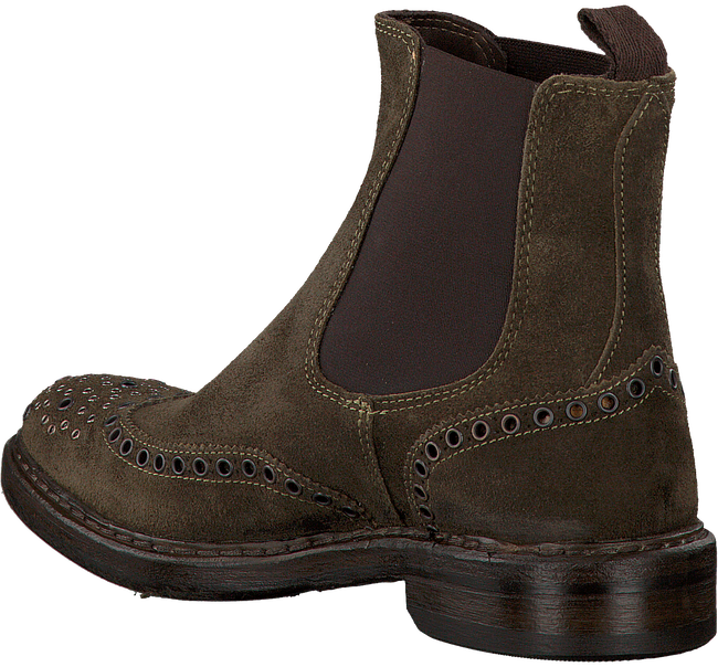 Groene HUNDRED 100 Chelsea boots W848-1  - large