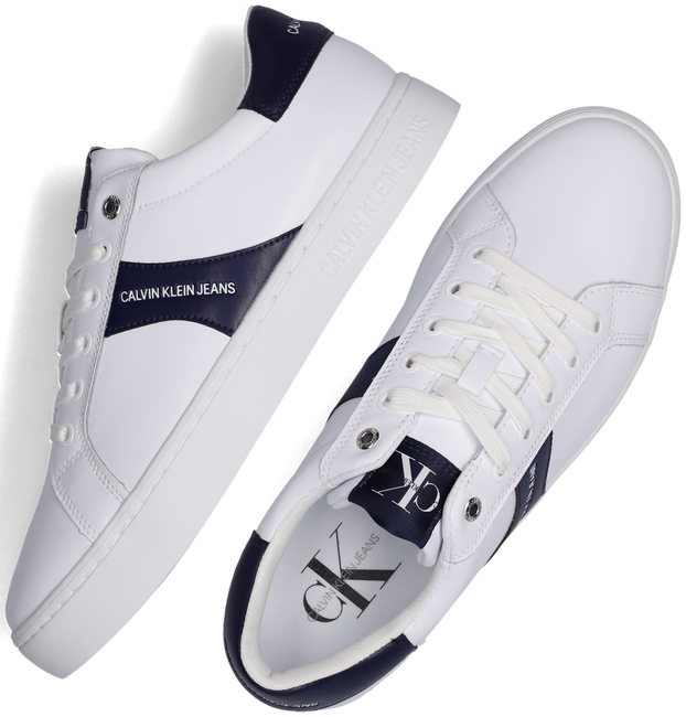 Witte CALVIN KLEIN Lage sneakers CUPSOLE SNEAKER LACEUP MEN  - large