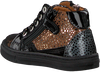 Cognac DEVELAB Lage sneakers 42226  - small