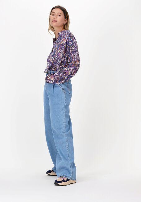 Blauwe LOLLY'S LAUNDRY Blouse LARI SHIRT  - large
