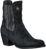 Zwarte SENDRA Cowboylaarzen 13914P  - small