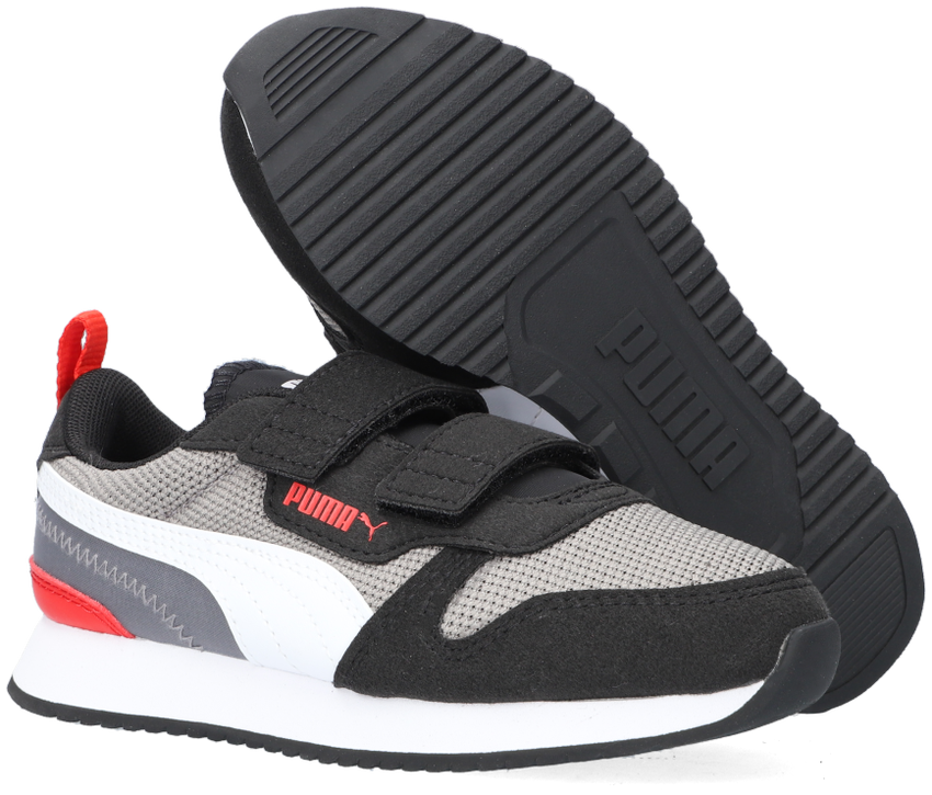 Grijze PUMA Lage sneakers R78 INF/PS  - larger